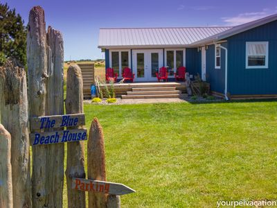Photo for Blue Beach House - Walk to beach, AC, newly renovated, family approved!