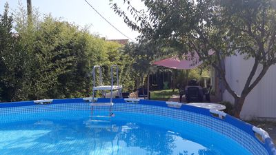 Photo for IDEAL Family (s) VILLA IN QUIET-POOL-4 CH-2 SDB- 3 WC- 10 min from the Beaches