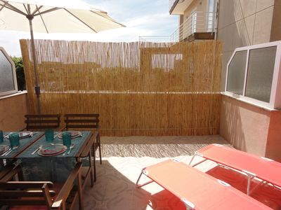 Photo for Beach apartment with sea view only 15 minutes away from Porto center and 100mts
