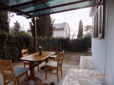 Photo for One bedroom apartment with terrace Selce (Crikvenica)