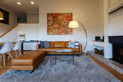 Beautifully appointed with exclusive artwork featured throughout this house.