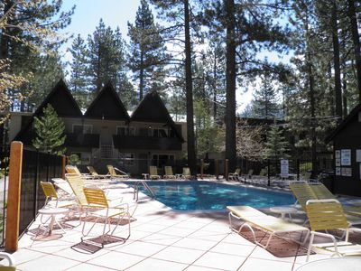 Photo for 1149 Herbert Condo in the Middle of Town with Summer Pool & Year-Round Hot Tub