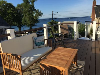 Photo for Ocean views just steps to Back Beach, Front Beach, and downtown Rockport