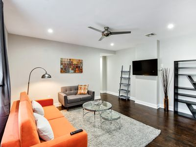 Photo for The Orange - Modern 3BD Apt in Fairmount