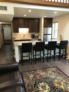 Photo for NEWLY REMODELED KITCHEN AND BATHROOMS!! Great mountain views. End unit.