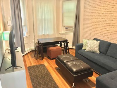 Photo for Adorable apartment in Cleveland Circle and walkable to BC!