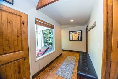 Turn to the left, this side of the home has been completely remodeled