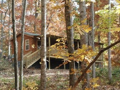 Photo for Lazy Rocker Cabin at Green Mountain Lodge in the heart of NC Apple Country