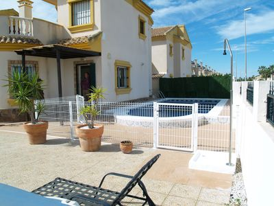 Photo for 3 Bedroom Villa With Large Private Pool In Quiet Location
