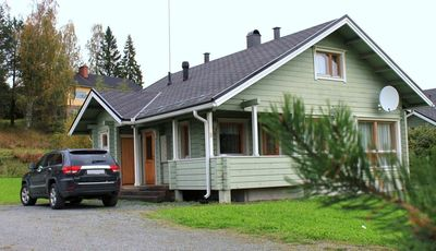 Photo for Villa Nuppulanranta . Himos resort . Lake, Golf, Ski