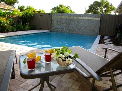 Photo for (WBE) 2B/2B, Private Heated Pool, Walk to Dining, Beautiful