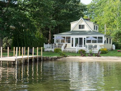 Photo for Waterfront with PRIVATE Beach and Dock!