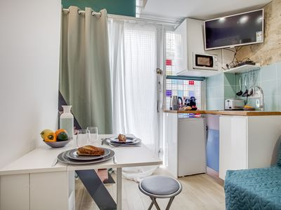Photo for Comfortable Studio with a Loft Bed in the 11th Arron.,