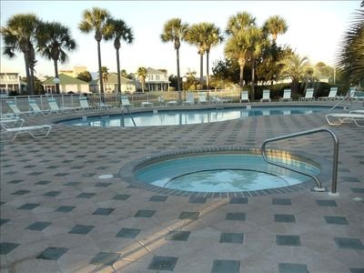 Enjoy our heated pool and Hot tub!