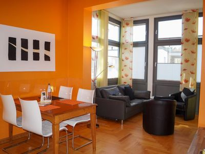 Photo for Modern, sunny apartment - close to the beach and the center, modern furnishings