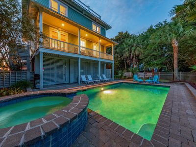 Photo for Dolphin View on Isle of Palms ~ PRIVATE POOL, ROOF TOP DECK, ELEVATOR, SPA