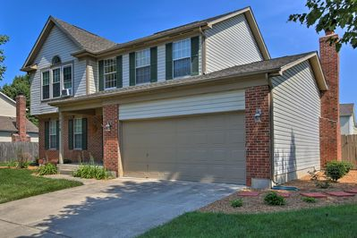 Find your next home-away-from-home at this vacation rental house in Fishers!