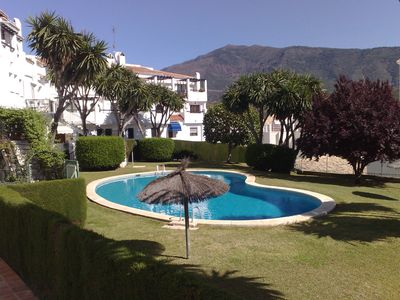 Photo for Spacious, central 2 Bedroom apartment in Benahavis Village