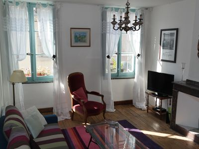 Photo for Elegant and romantic apartments in Medieval Carcassonne, free wifi