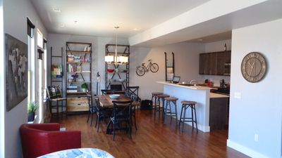 "Photo for River Lofts Condo ""the Biker"" on the River in Salida's Historic District"
