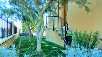 Photo for New apartment with private parking and garden wifi, air conditioning 2 to 4 people