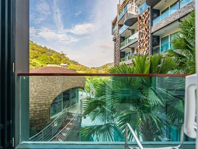 Photo for ET414 - Charming pool view studio, pool and gym in Patong