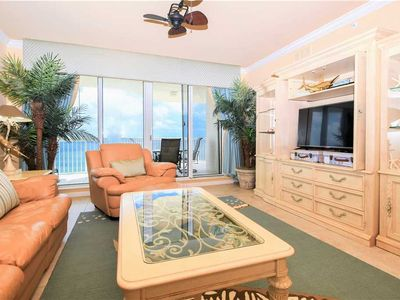 Photo for Beachfront getaway w/private balcony in heart of Destin!