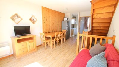Photo for Surface area : about 62 m². Orientation : South. Bedroom with shower, double bed. WC