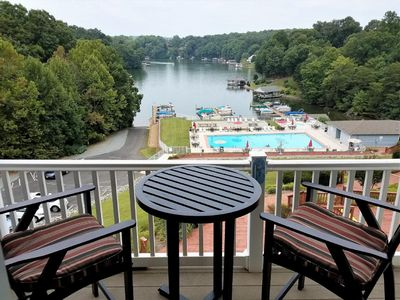 Photo for Beautiful Penthouse Condo With Amazing Smith Mountain Lake View