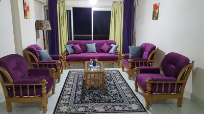 Photo for Lovely Fully Furnished Central Flat in Nasr City close Makram Ebeid and WHO