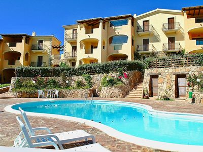 """Photo for Apartment """"Bia de Bados A1"""" with Shared Pool, Terrace, Garden and Barbecue"""