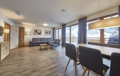 Photo for new modern apartment with private sauna for 4 people, right next to the slope