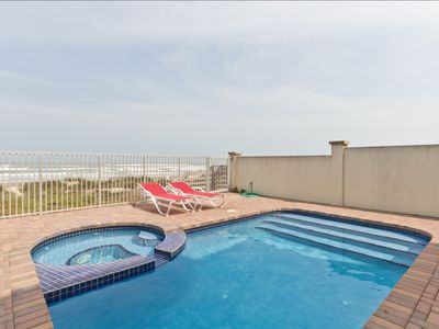Photo for Pristine & Modern Gulf Breeze House! Oceanfront with Pool! The Beach is Your Backyard!