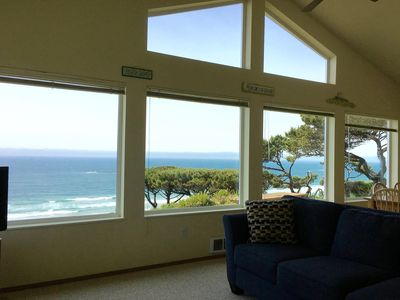 Photo for Panoramic Ocean View! Amazing Sunsets! Whale Watching!