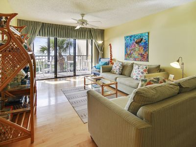Photo for Lands End #303 building 11 - Beautiful Gated Community/Beachfront condo!