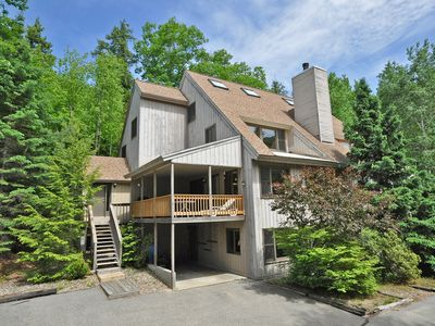 Photo for 4BR in Cranmore Birches w/ AC, Cable, WiFi, Deck w/ Grill, Wii & Air Hockey!