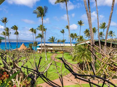 Photo for Napili Shores Partial Ocean View 1BR/1BA Steps from Napili Bay