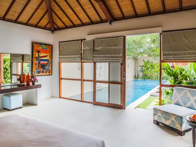 Photo for Open-Air 8, 3BR Villa in Legian