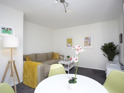 Photo for Sleek 2BD House with Garden Heart of Guildford