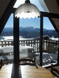 Photo for individual chalet, 3 rooms, splendid view, full south, aucalme.