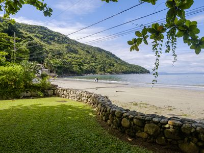 Photo for FOOT IN THE SAND IN UBATUBA - BEAUTIFUL SACRED FACING THE SEA