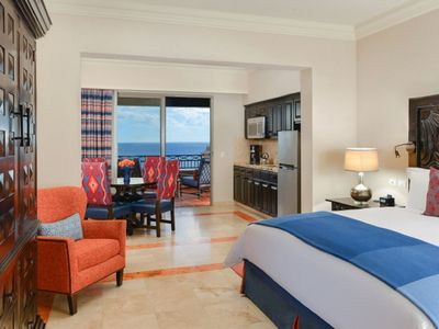 Photo for Pueblo Bonito Sunset Beach Golf & Spa Resort, Jr. Suite w/an ocean view!