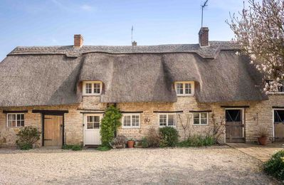 Photo for Old Manor Cottage is a stunning thatched cottage, located in the grounds of the owner's manor house