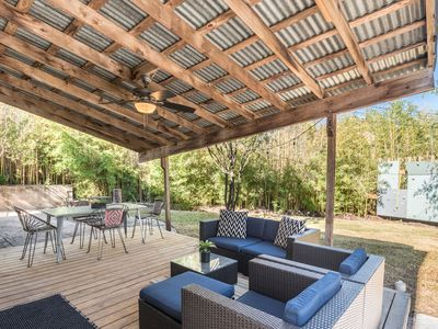 Photo for Awesome patio/backyard, remodeled home 3 mi to DT