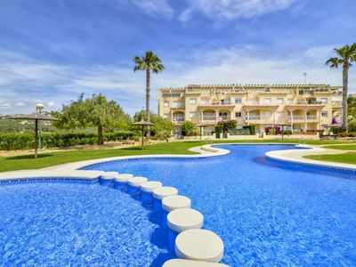Photo for Residence Casanova 2-1-5 - Apartment with pool and tennis in Calpe