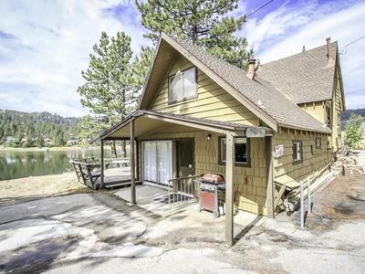 Photo for Cabin on the Lake with Beautiful Lake Front Views