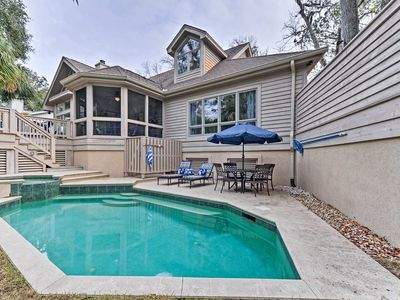 Photo for MAMASITA'S Sea Pines Resort Family Home w/Pool!
