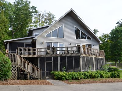 Photo for Lake Barkley Waterfront House & Dock for Water Sports/Fishi