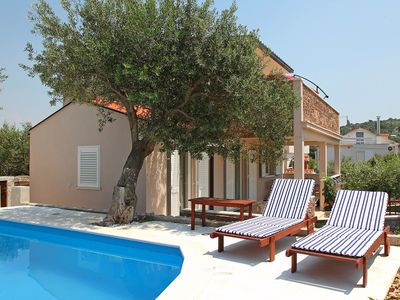 Photo for This 3-bedroom villa for up to 6 guests is located in Razanj/Ražanj and has a private swimming pool,