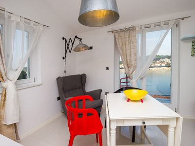 Photo for Sea view apartment Popeye with private parking place, Wi-Fi...